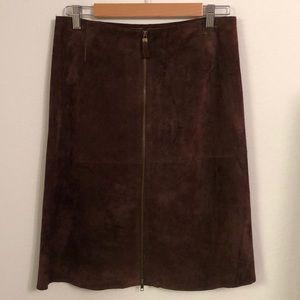 Isaac Mizrahi for Target Suede Skirt